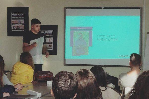 aula de marketing digital dada pelo Tony na EPO